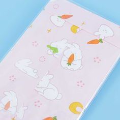 Bunny & Carrot Letter Set Highlighter Pen, Cute Letters, Gel Ink Pens, Cute School Supplies, Kawaii Stationery, Best Bud, Kawaii Shop, Sweet Notes