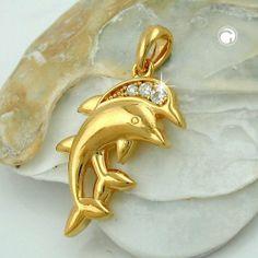 Anhänger Delfinpaar vergoldet 3 Micron Dreambase, http://www.amazon.de/dp/B00H2IEVI0/ref=cm_sw_r_pi_dp_r5Uitb1R1KGBE