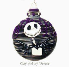 Nightmare Before Christmas inspired Jack by ClayArtbyDaresa, $17.00