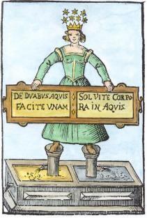 Alchemy:  Alchemy transmutation.  An #Alchemy artwork.