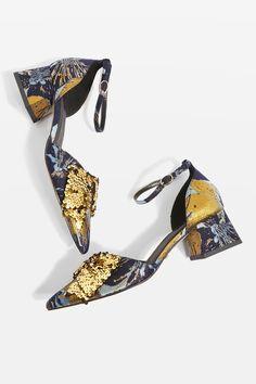 low priced 4224b 43e6d Carousel Image 1 Pool Fashion, Fashion Shoes, Fashion 2017, Kitten Heels,  Block