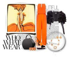 """""""Who What Where"""" by leanne-mcclean ❤ liked on Polyvore featuring Junya Watanabe, Suboo, Fendi, Mixit and Who What Wear"""