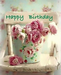 Find the most Beautiful Happy Birthday Flowers HD Images list for your special someone's birthday, You can send some cute Birthday Flowers For Her/him. Happy Birthday Words, Happy Birthday Vintage, Happy Birthday Flower, Birthday Blessings, Happy Birthday Pictures, Happy Birthday Messages, Happy Birthday Greetings, Birthday Love, Happy Belated Birthday
