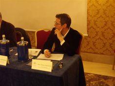 Stefano Squecco (Direttore Molino Stucky Hilton Hotel di Venezia) durante la tavola rotonda - V° GPAV @ Hotel Amadeus di Venezia.