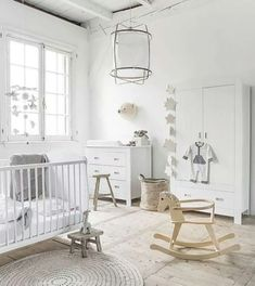 cute off white nursery