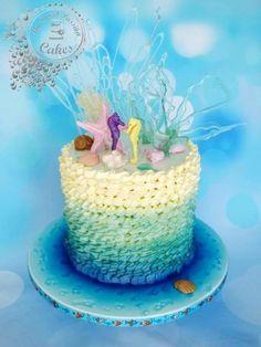 Wedding Cake - Under the sea
