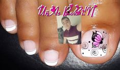 Image may contain: 1 person, closeup Toe Nail Art, Toe Nails, Pedicure, Nailart, Nail Designs, Instagram Posts, Robin, Beauty, Pretty Pedicures