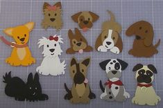 Puppy, Marianne Design, Dog Cat, Greeting Cards, Snoopy, Dogs, How To Make, Animals, Animales