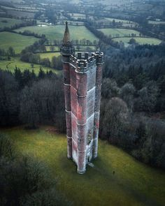 """King Alfred's tower is one of many """"follies"""" built in Britain. Follies are those buildings erected by the upper classes during the heights of British power for the sole purpose of displaying wealth and entertaining friends."""