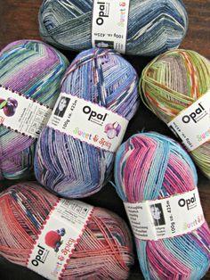 The Woolly Brew: Opal Sweet & Spicy sock yarn