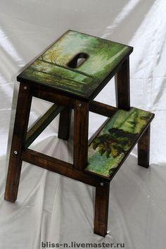 """Мебель ручной работы. Ярмарка Мастеров - ручная работа Лестница """"Лесные просторы"""". Handmade."""