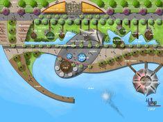 Calcott Architecture & Landscape Design Ltd - Garten Landschaftsgestaltung Landscape Architecture Model, Landscape Design Plans, Cultural Architecture, Urban Landscape, Parque Linear, Airport Design, Urban Planning, Urban Design, Business Design