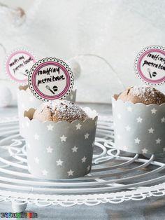 Przepis na muffiny piernikowe Cupcake, 18th, Ideas, Recipes, Cupcakes, Cupcake Cakes, Thoughts, Cup Cakes, Muffin