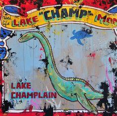 Champ the Lake Monster!