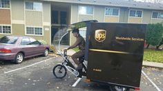 UPS makes Portland a U.S. test case for eBike package delivery