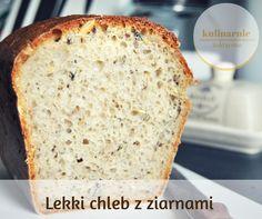 Lekki chleb z ziarnami