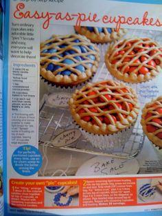 cutest pie cupcakes ever!