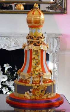 Steampunk_Russian_Wedding_Cake
