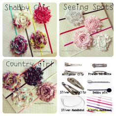 Free Giveaway: Win Your Choice of 4 Headbands or Hair Clips   Enter Here: http://www.giveawaytab.com/mob.php?pageid=150298035028552
