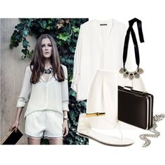 """""""Natural White"""" by deenguyen on Polyvore"""