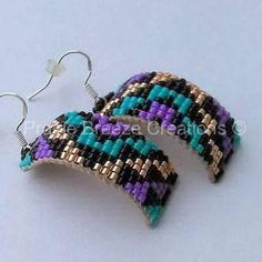 Geo Curved Style Native Beadwork
