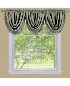 Sutton Waterfall Valance - Green