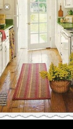 Kitchen Runner, Cool Rugs, Kitchen Island, Contemporary, House, Ideas, Home Decor, Island Kitchen, Decoration Home