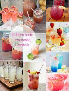10 Lemonade Cocktail Ideas For A Tropical or Summer Wedding via @Giselle Pantazis Howard Sayers Wed