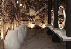I'd never come out of the ladies room.  lavabo de pie en porcelana blanca SWING de SANICO