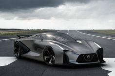 nissan concept 2020 vision gran turismo - the real driving simulator - designboom | architecture