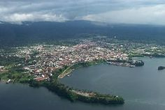 The Port of Malabo, Equatorial Guinea  the only African country where Spanish is an official language.