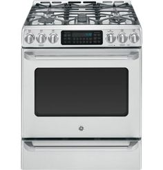 GE Cafe Slide-In Gas Convection Range