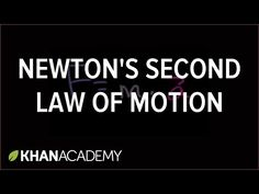 Find More Science Experiments Today's experiment will demonstrate Newton'sSecond Law of Motion. Newton'sSecond Law of Motion: Acceleration is produced when a force acts on a mass. The greater the mass (of the object being accelerated) the greater the amount of force needed (to accelerate the object). SIMPLY: Pushing or pulling an object produces acceleration, a …