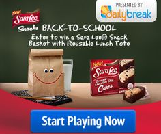 Sara Lee Back-To-School #Sweepstakes #BackToSchool