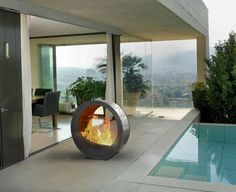 7 Ingenious Cool Tips: Gas Fire Pit Seating modern fire pit seating.Fire Pit Wedding Friends fire pit chairs back yard. Easy Fire Pit, Small Fire Pit, Modern Fire Pit, Fire Pit Chairs, Fire Pit Seating, Gazebo With Fire Pit, Fire Pit Backyard, Minimalist Fireplace, Indoor Outdoor Fireplaces