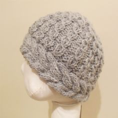 Cable Hat - via @Craftsy