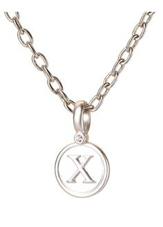 Chi Silver Pendant - BambooPink
