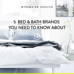 Click to browse the MyDomaine Dossier Bedroom & Bath category. #MyDomaineDossier