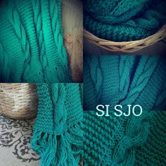 Si Sjo LAGUNA plaid/throw by sisjo on Etsy