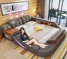 You'd have to be pretty confident to name something the ultimate bed. We've featured some pretty awesome beds, in the past, including a flip-up bed that doubles as a closet, along with a giant kind-si...