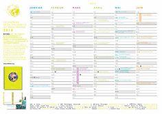 Le calendrier solidaire 2016 - Ritimo
