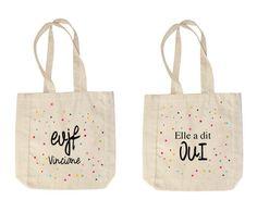 Tote bag personnalisé de la boutique Lovaple sur Etsy