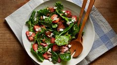 Just because it's good for you doesn't mean it has to be predictable. These spinach salad combinations make it easy and delicious to put away another daily dose of greens.