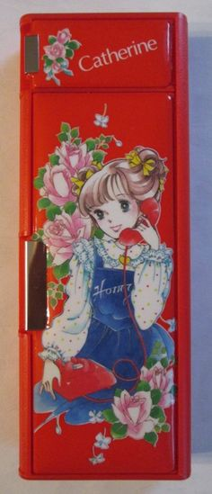 Catherine pencil case (Venice, Japan, 1980s) I | Flickr - Photo Sharing!