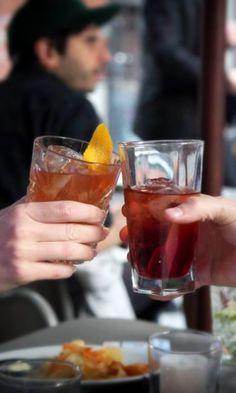 Boulevardier vs. Dark & Stormy Cocktail Boulevardier: 3/4oz Bourbon or Rye, 3/4oz Campari, 3/4oz Sweet Vermouth ~ Dark & Stormy Cocktail 1 1/4oz Dark Rum, 3/4oz Fresh Lime Juice, Fill Ginger Beer/Ginger Ale