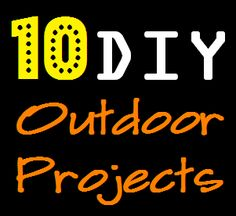 Since I've been spending a lot of my time outdoors I thought I'd share some super DIY outdoor projects with you that I've come across. These are my top 10 favorite:I've seen a lot of wood planters out there but I love how this one fills out t. Diy Outdoor Wood Projects, Diy Projects, Outdoor Decor, Outdoor Play, House Projects, Outdoor Ideas, Outdoor Spaces, Project Ideas, Indoor Outdoor