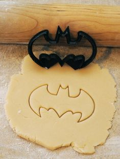 3D Printed Batman superhero cookie cutter 3 1/2 inches wide by BoeTech on Etsy $7.49