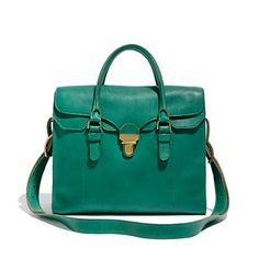 The Lovelock Tote denim jeans, diaper bags, style, women bags, emerald, color, woman clothing, work bags, lovelock tote