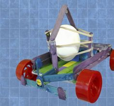 We've all heard of the classic egg-drop engineering challenge, so here's a twist - crash test race cars!