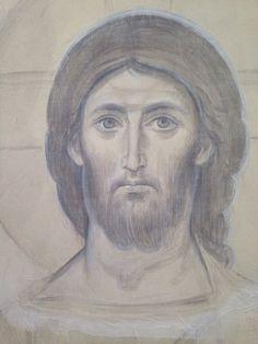 Byzantine Art, Byzantine Icons, Religious Icons, Religious Art, Paint Icon, Small Canvas Paintings, Jesus Art, Albrecht Durer, Catholic Art